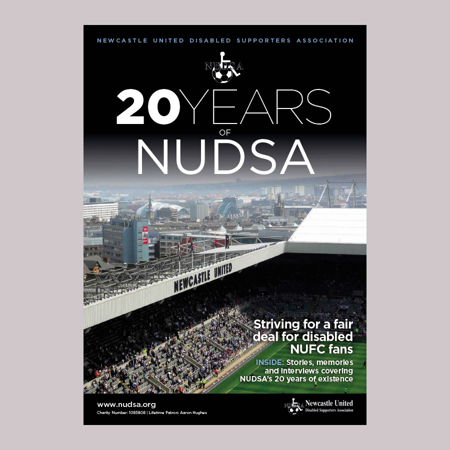 20 Years of NUDSA